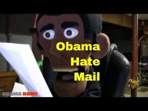 Presidential Puppet Obama Hate Mail