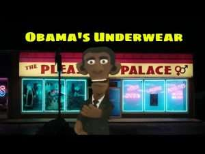 Presidential Puppet Obama Talks About His Underwear